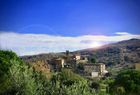 Montecerboli (PI): il castello